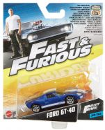 Fast & Furious 1:55th Die-Cast Vehicle Ford GT-40 - FCN88